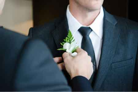 image of a groom
