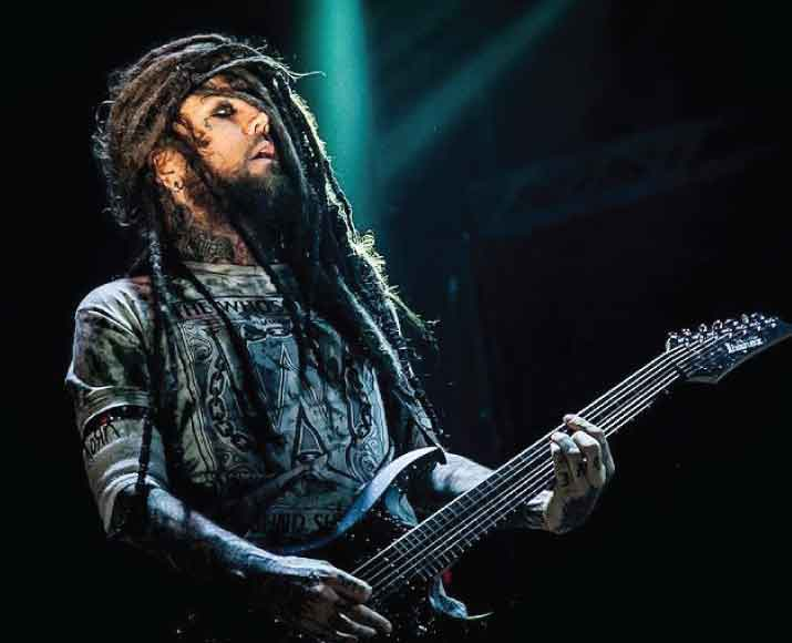 "Brian ""Head"" Welch guitarist and co-founder of Korn"