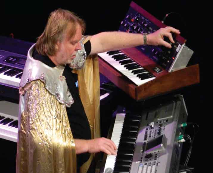 Rick Wakeman keyboardist for Yes.
