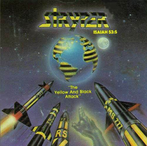 stryper yellow and black attack