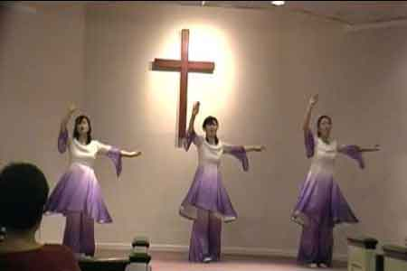 image of people dancing as a form of worship