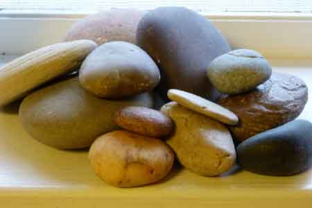 image of the stones of remembrance we used.